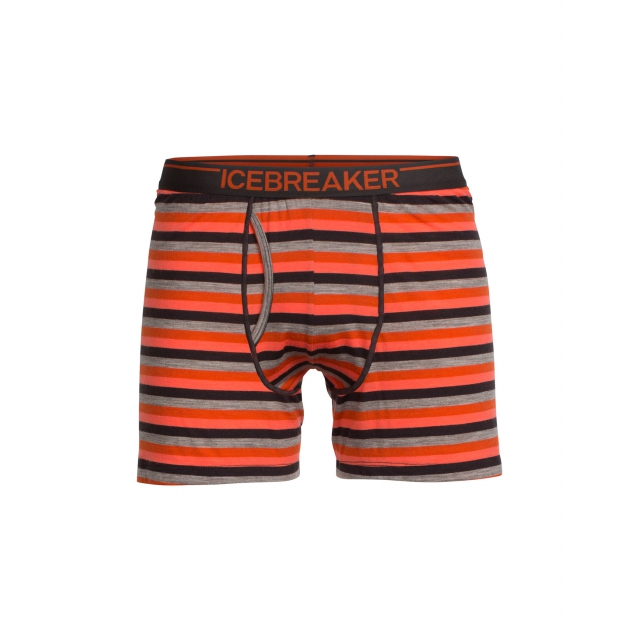 Icebreaker - Men's Anatomica Relaxed Boxers w Fly