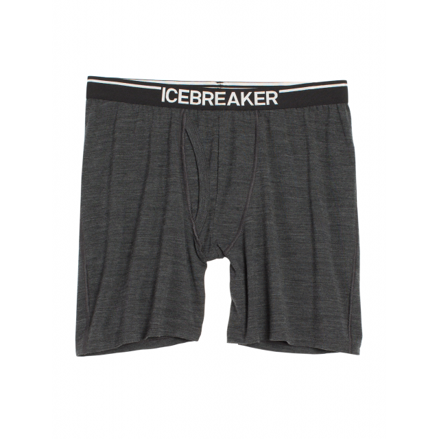 Icebreaker - Men's Anatomica Long Boxer w Fly