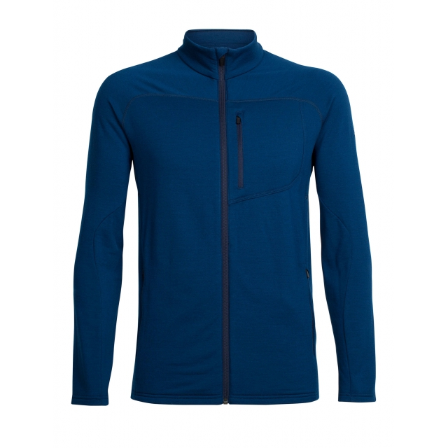 Icebreaker - Men's Mt Elliot LS Zip