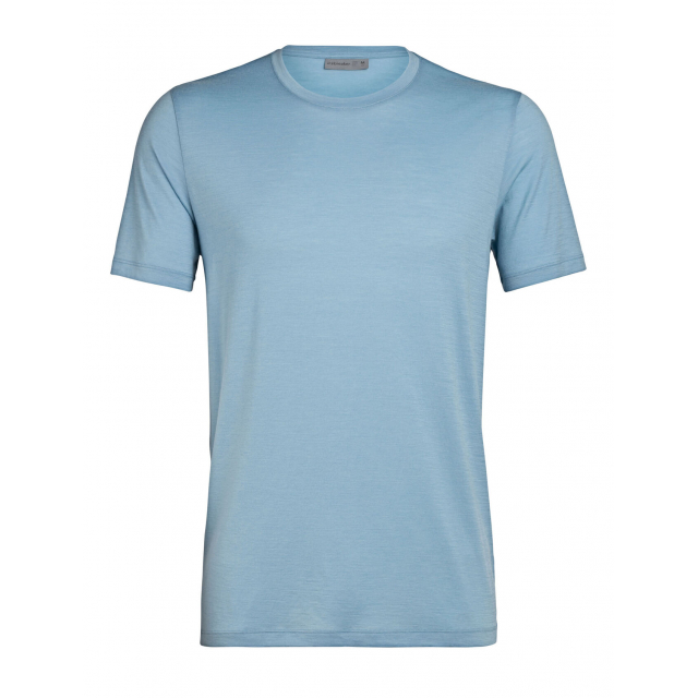 Icebreaker Tech Lite Men Short Sleeve Crewe Cooc by Night T-Shirt midnight navy