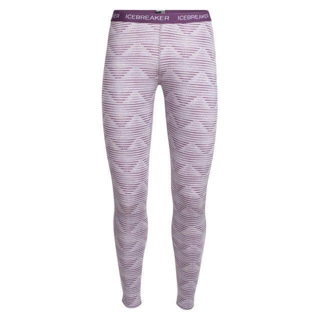 Icebreaker - Women's Oasis Leggings Diamond Line in Sioux Falls SD