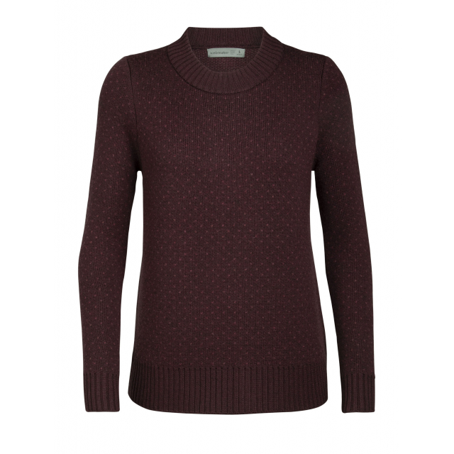 Icebreaker - Women's Waypoint Crewe Sweater in Chelan WA