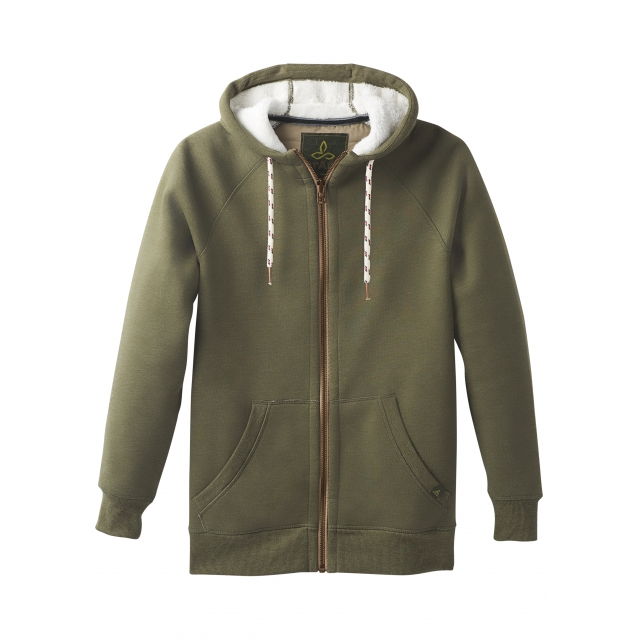 Prana - Men's Lifestyle Full Zip Lined Hood