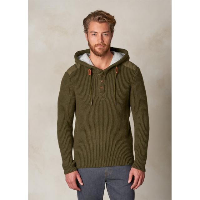 Prana - Hooded Henley Sweater
