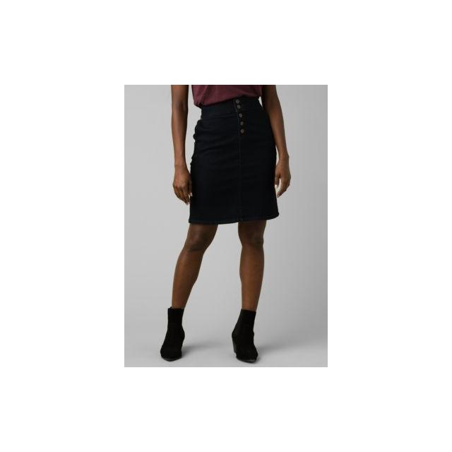 prAna Womens Aubrey Denim Skirt