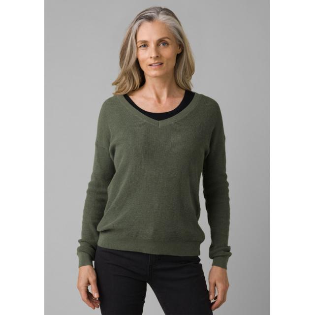 Prana - Women's Milani Vneck Sweater in Chelan WA