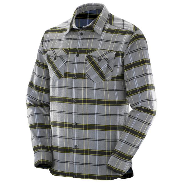 Salomon - Boundless Flannel LS Shirt M