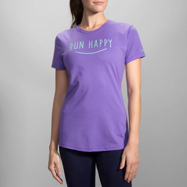 Brooks Running - Run Happy Smile Tee