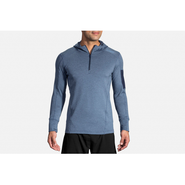 Brooks Running - Men's Notch Thermal Hoodie in Colorado Springs CO