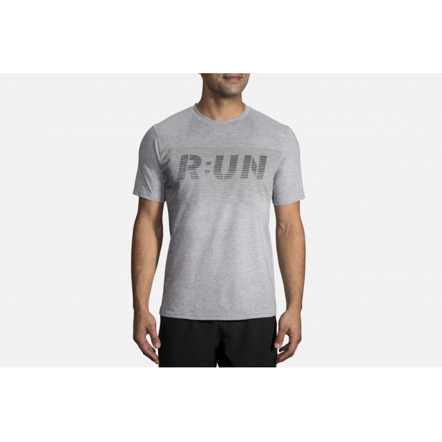 Brooks Running - Men's Distance Graphic Tee