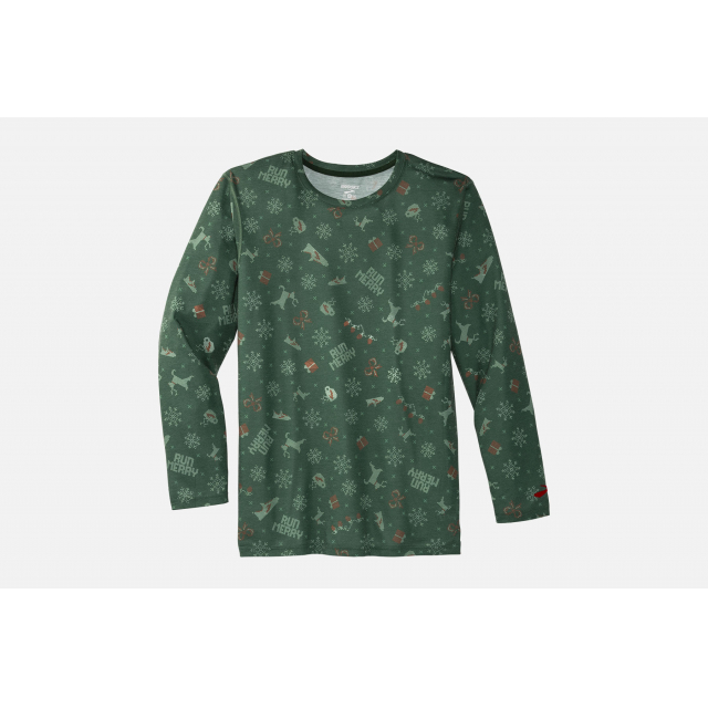 Brooks Running - Men's Distance Graphic Long Sleeve in Colorado Springs CO