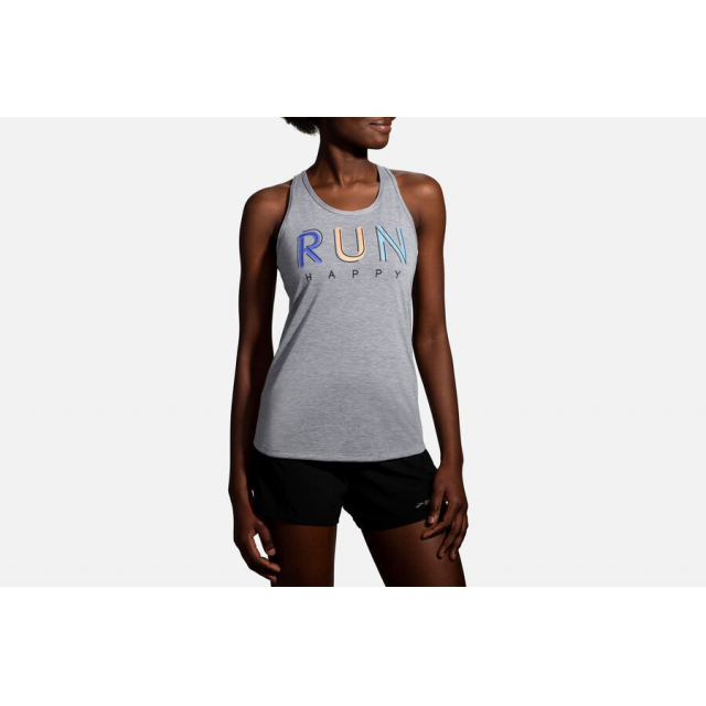 Brooks Running - Women's Distance Graphic Tank in Colorado Springs CO