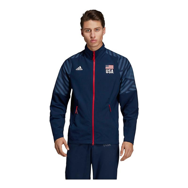 Adidas adidas Men's USA Volleyball Warm Up Jacket