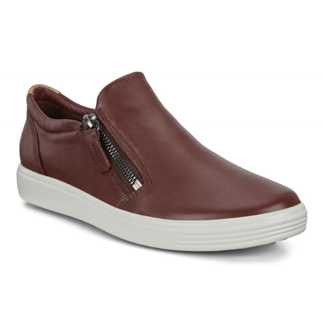 ECCO - Women's Soft 7 Side Zip Sneaker in St Joseph MO