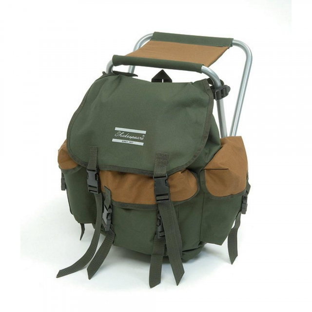Shakespeare - Folding Stool with Backpack   Model #STOOL WITH BACK PACK