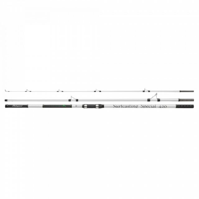 Shakespeare - Glowstik Surf Spinning Rod   4.20m   Model #FireFly Surf 423 225g 3pcs