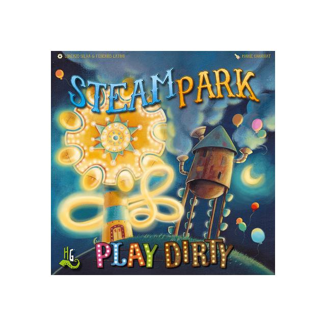 IELLO - Steam Park: Play Dirty