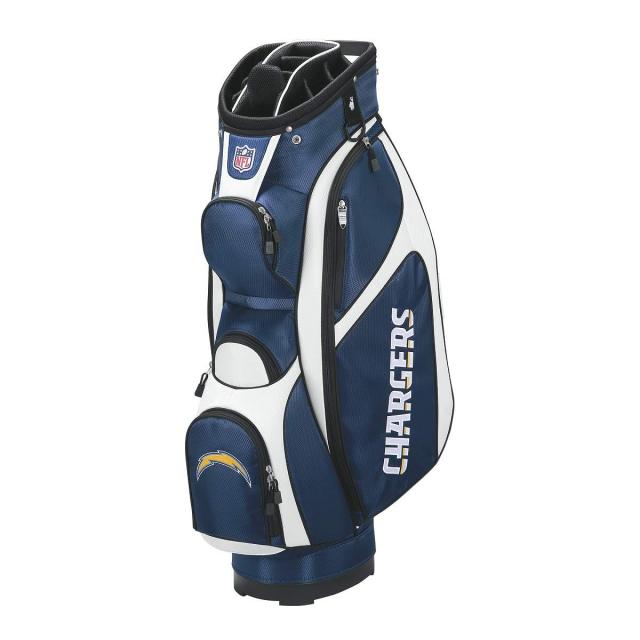 San Diego Chargers Backpack: Wilson / Wilson NFL Cart Golf Bag
