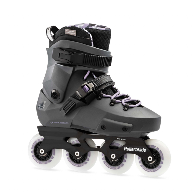Rollerblade - Twister Edge Women's Adult Fitness Inline Skate, Anthracite and Lilac, High Performance Inline Skates in Coquitlam Bc