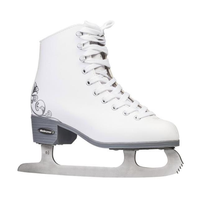 Bladerunner Ice by Rollerblade Dynamo Junior Hockey Ice Skates Black Adjustable