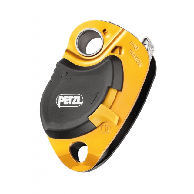 Petzl - PRO TRAXION pulley rope clamp