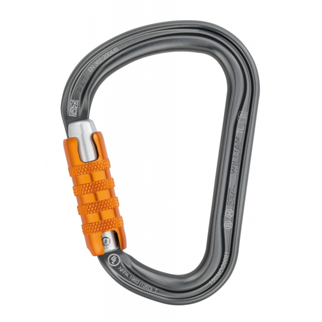 Petzl - WILLIAM TRIACT-LOCK biner