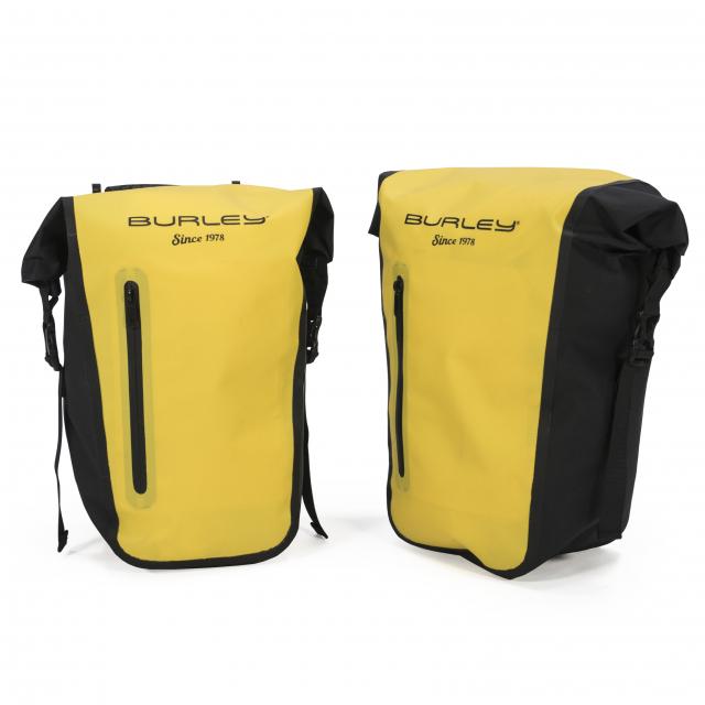 Burley Design - Pannier Set, Yellow