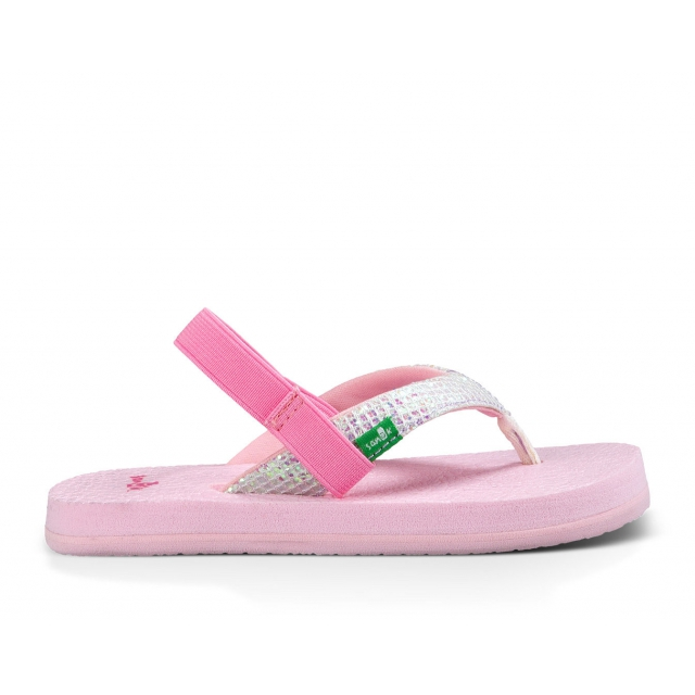 Sanuk - Girls Yoga Glitter