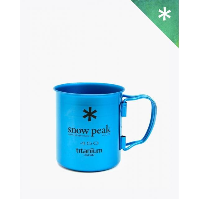 Snow Peak - Titanium Single Cup  450 Blue