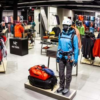 Arc'teryx Whistler - closed for renovations