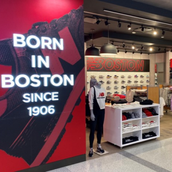 New Balance Logan Airport | Closed Temporarily