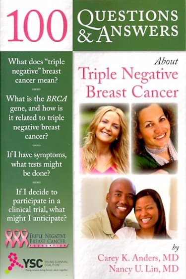 100 Questions and Answers about Triple Negative Breast Cancer Cover Image