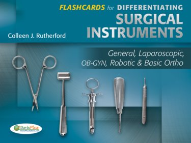 image about Surgical Instrument Flashcards Printable named - 9780803628977 (0803628978) : Flashcards