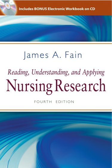 Reading, Understanding, and Applying Nursing Research. Text with CD-ROM Cover Image