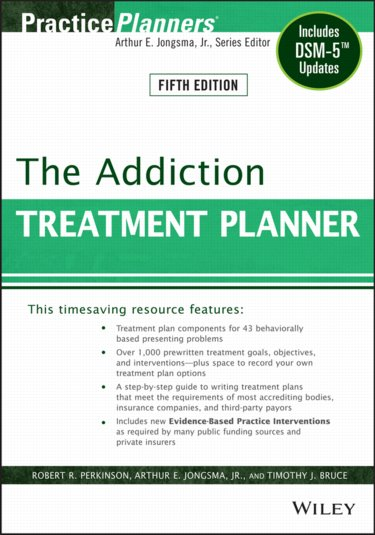 Addiction Treatment Planner Cover Image