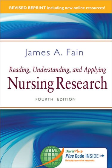 Reading, Understanding, and Applying Nursing Research. Text with Access Code Cover Image