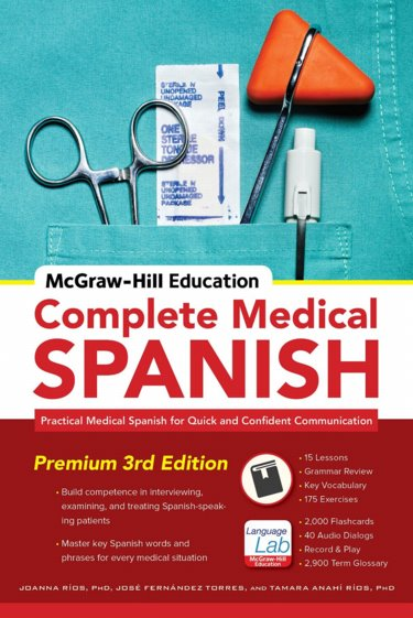 McGraw-Hills Complete Medical Spanish Cover Image