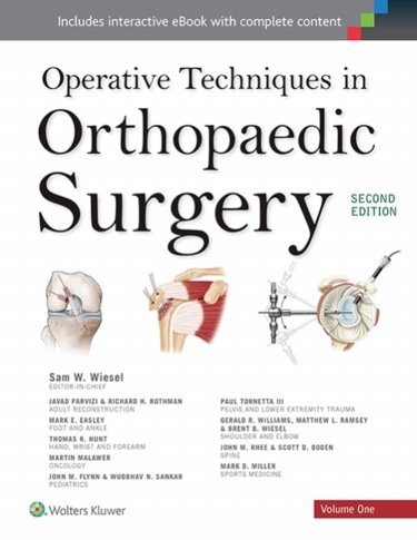 Operative Techniques in Orthopaedic Surgery. 4 Volume Set. Text with Access Code Cover Image