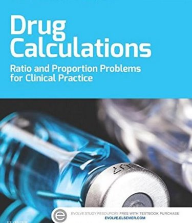 Drug Calculations: Ratio and Proportion Problems for Clinical Practice Cover Image