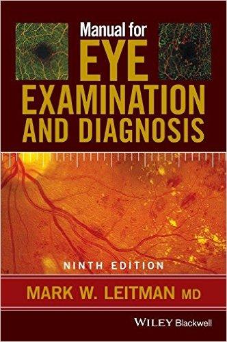 Manual for Eye Examination and Diagnosis Cover Image