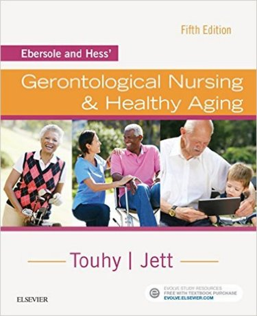 Ebersole and Hess Gerontological Nursing and Healthy Aging Cover Image