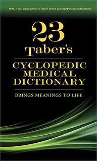 Tabers Cyclopedic Medical Dictionary. Thumb-indexed Version Cover Image
