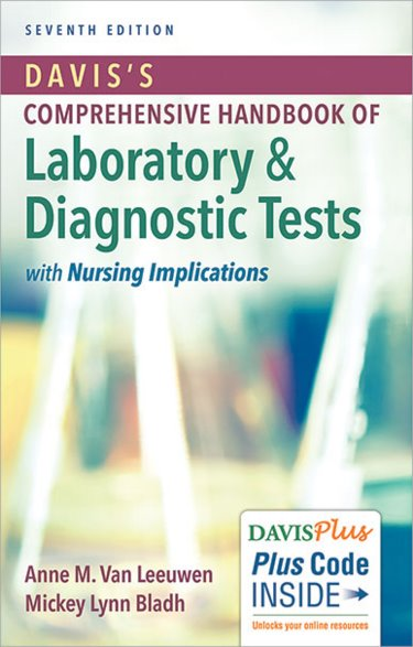 Daviss Comprehensive Handbook of Laboratory and Diagnostic Tests with Nursing Implications. Text with Access Code Cover Image