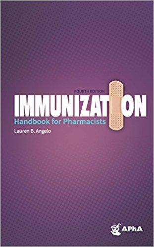 Immunization Handbook for Pharmacists Cover Image