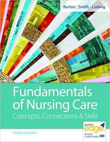 Fundamentals of Nursing Care: Concepts, Connections and Skills. Text with Access Code Cover Image