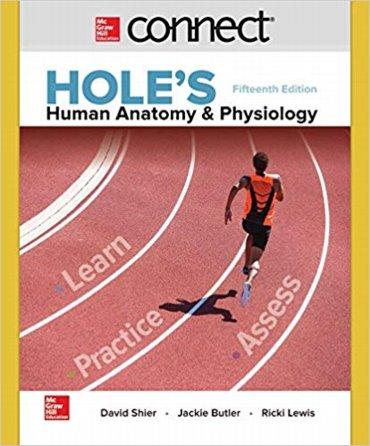 Connect 2 Semester Access Card for Holes Human Anatomy & Physiology Access Code Cover Image