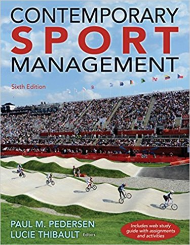 Contemporary Sport Management. Text with Access Code Cover Image