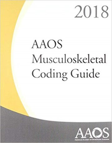 AAOS Musculoskeletal Coding Guide 2018 Cover Image
