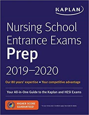 Nursing School Entrance Exams Prep Plus 2019-2020 Cover Image