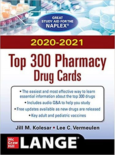 2020-2021 Top 300 Pharmacy Drug Cards Cover Image